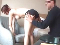 Fabulous Japanese chick Mai Hanano in Horny POV, Blowjob/Fera JAV video