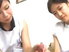 Incredible Japanese chick Ryo Shinohara, Sayaka Fukuhara in Horny Blowjob/Fera, Facial JAV clip