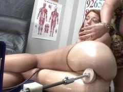 Angelina Castro Teaches Jessica Robbin with a Fucking Machine