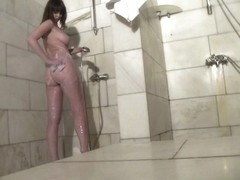 Hot Russian Shower Room Voyeur Video  4