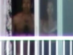 Hotel neighbour balcony guy 2
