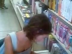 Voyeur sexy young lady teen (librery)