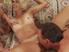 Hottest pornstars Alana Evans and Payton Leigh in best big tits, cumshots xxx movie