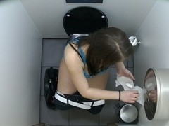 First Hidden Web Camera in Toilets Worldwide