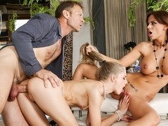 Black Angelica, Cayenne Klein, Rocco Siffredi in Girls Vs Milfs #02, Scene #03