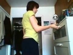 Stripping in the kitchen