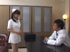 Doctor Has Hina Hanamis Tight Nurse Pussy To Fuck