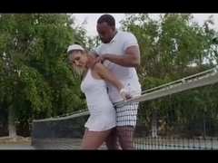 She Wants More Than Tennis Lesson