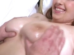 Clover fucks Felicia Clover's big boobs