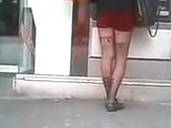 In love with hot legs in public