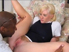 White Naomi Cruise likes big black dicks