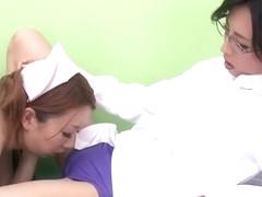 Crazy Japanese model Wakana Kinoshita, Nozomi Natsuki in Fabulous Hairy, Cunnilingus JAV scene