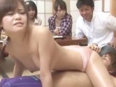 Best Japanese chick Riri Kouda, Mikan Kururugi in Incredible JAV video