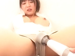 Crazy Japanese chick Yuuri Himeno in Fabulous Squirting, Fingering JAV movie