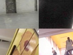 Nasty upskirting clip shows amazing skinny ass