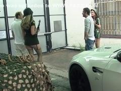 Crazy pornstars Jordan Kingsley and Antonia Deona in horny big ass, cumshots xxx scene