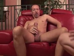 Incredible pornstar Anita Blue in amazing facial, blonde porn movie