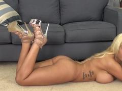 Hottest pornstar Bridgette B in Crazy Blonde, Big Tits sex movie
