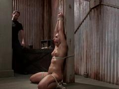 Amazing fetish sex clip with crazy pornstar Mischa Brooks from Dungeonsex