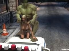 Hulk Pussy Smash!