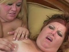 Lesbian Action #8 (Two BBW)