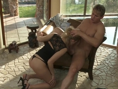 Exotic pornstar Dona Bell in incredible facial, blonde sex clip