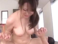 Exotic Japanese girl Mao Kurata in Horny Big Tits JAV scene