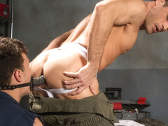 Bondage Garage featuring Lance Hart, Micky Mackenzie - FistingCentral