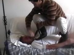 straight man trampling gay 1