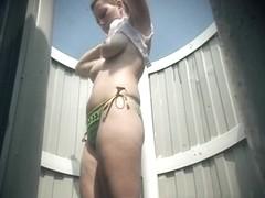 Hidden Camera Video. Dressing Room N 209