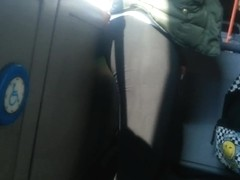 spy sexy teens legs in bus romanian