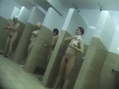 Hidden cameras in public pool showers 992