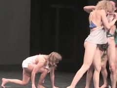 Naked on Stage 207 Julia Garai Hodworks 2