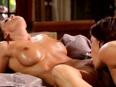 Incredible pornstars Natasha Voya, Abigail Mac, Vanessa Veracruz in Horny Fingering, Lesbian porn .