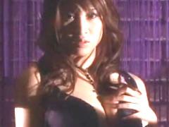 Hottest Japanese girl Junna Aoki in Horny Swallow/Gokkun, DP/Futa-ana JAV scene