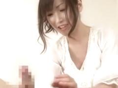 Exotic Japanese model in Fabulous Handjobs, Cumshots JAV video