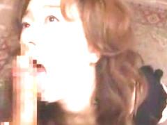Hottest Japanese model Kei Marimura in Crazy Facial, Stockings/Pansuto JAV video
