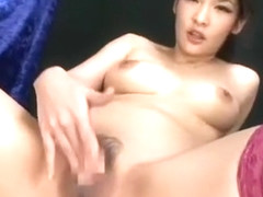 Fabulous Japanese chick Rina Fukada in Best Fishnet, Stockings/Pansuto JAV clip