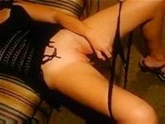 Masturbation and dildos