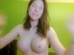 Rubbing my big cunt with a sex toy