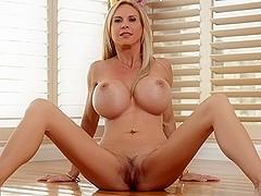 Brooke Tyler in Dirty Triple D's Video
