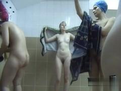 Hidden cameras in public pool showers 420