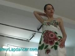 Sensual lapdance by superhot czech girl