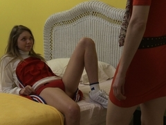 Jessie Andrews & Abby Darling in Cheer Squad Sleepovers #02, Scene #03