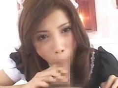 Exotic Japanese chick Tsubasa Aihara in Horny Cumshots, Blowjob/Fera JAV video