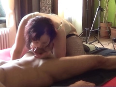 submissive german housewife first time anal from young boy - devote mia