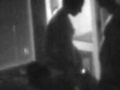 Caught Neigbors orgy at the balcony spycam