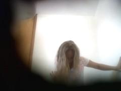 blonde hidden cam