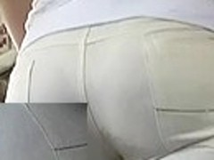 Limp arse in taut panties