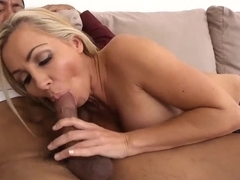 Ethan Hunt getting seduced by the big titted cougar Lisa DeMarco